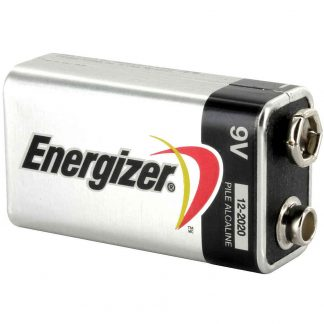 Energizer 9 volt alkaline batteri