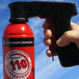 110 Slukkeskum med Cangun pistolgrep