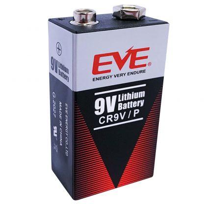 EVE 9V lithium langtidsbatteri