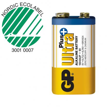 GP Ultra alkaline batteri